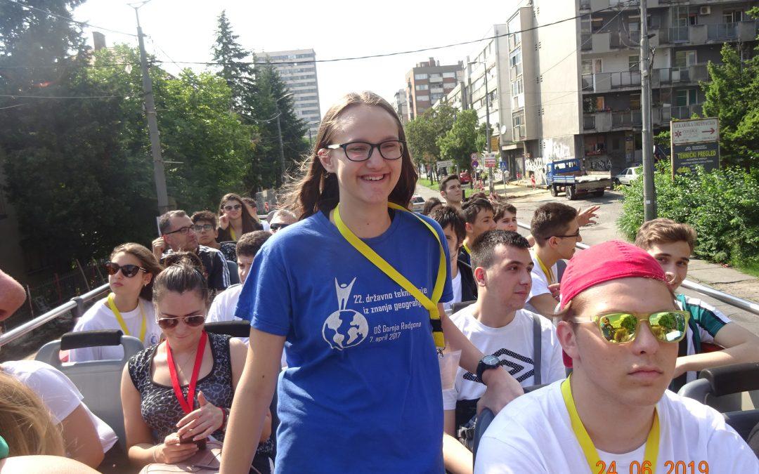 Lara Velkavrh prejela bronasto medaljo na mednarodni geografski olimpijadi
